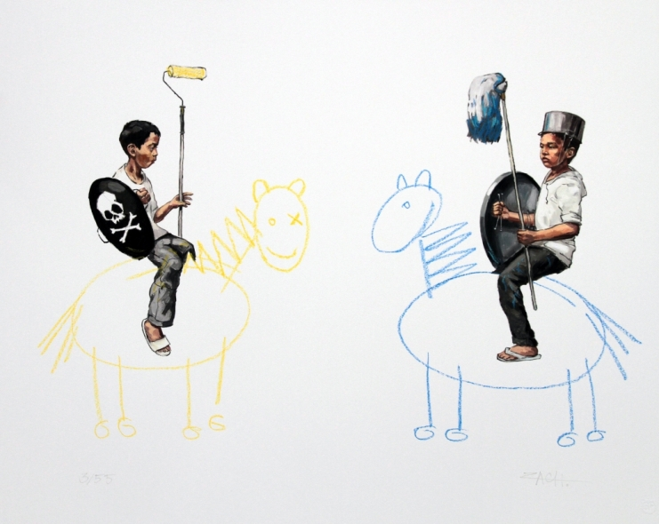Ernest Zacharevic Prints & Originals